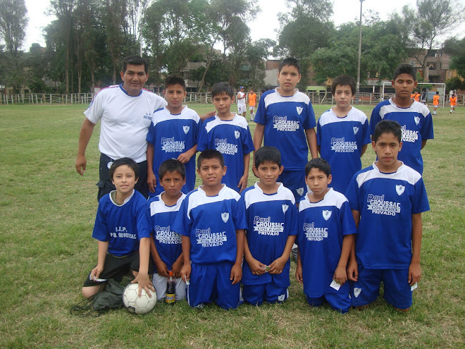 "EQUIPO CAMPEON CAT 97-98  COLEGIO ""PAUL GROUSSAC"""