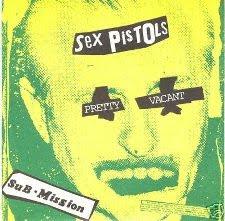 Sex Pistols' Pretty Vacant 7-inch