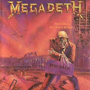 Megadeth Peace Sells But Who's Buying? CD cover