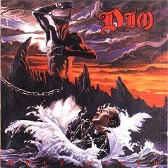 Pretty sure the thing on the Holy Diver cover is a Shrike