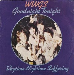 Paul McCartney & Wings Goodnight Tonight 12-inch cover