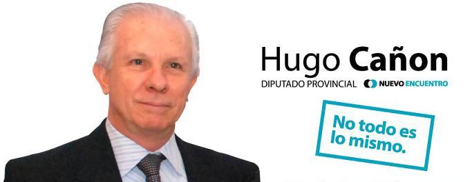 Hugo Cañón Candidato a Diputado Provincial por Nuevo Encuentro