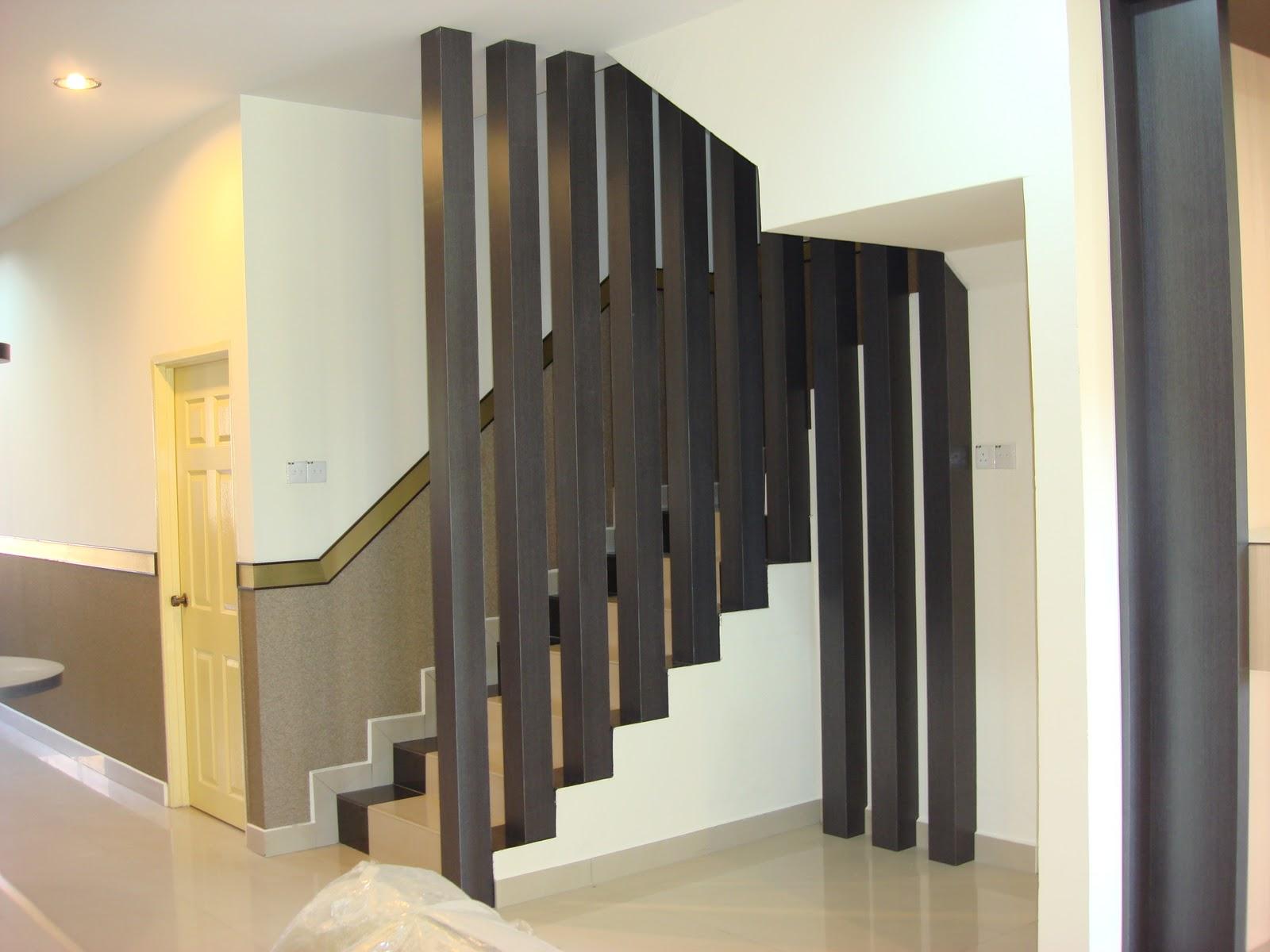 Interior design renovation kuala terengganu double for Double storey house interior design