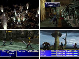 Capturas Final Fantasy VII