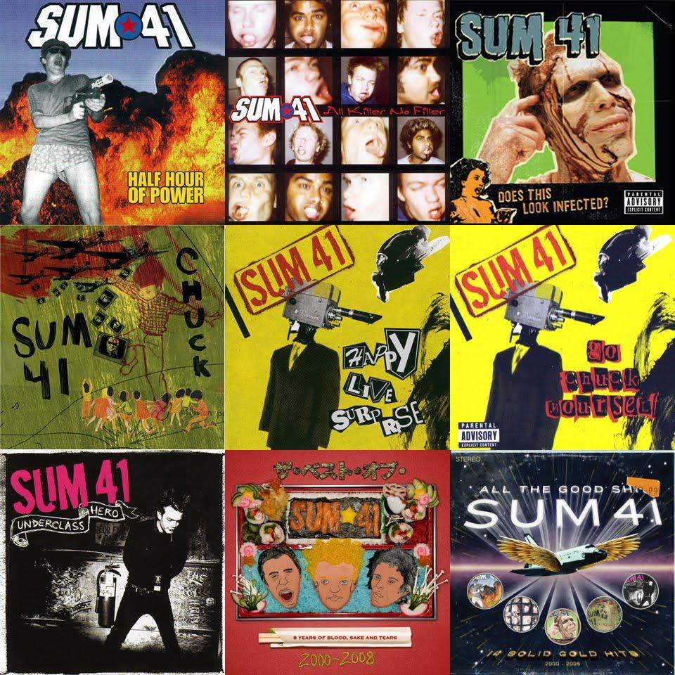 Compartiendo al Límite  Discografía Sum 41  9 álbumes  canciones  mp3  2000-2009  54032000ac6