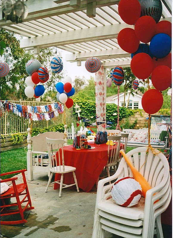 Baseball Party Decorating Ideas
