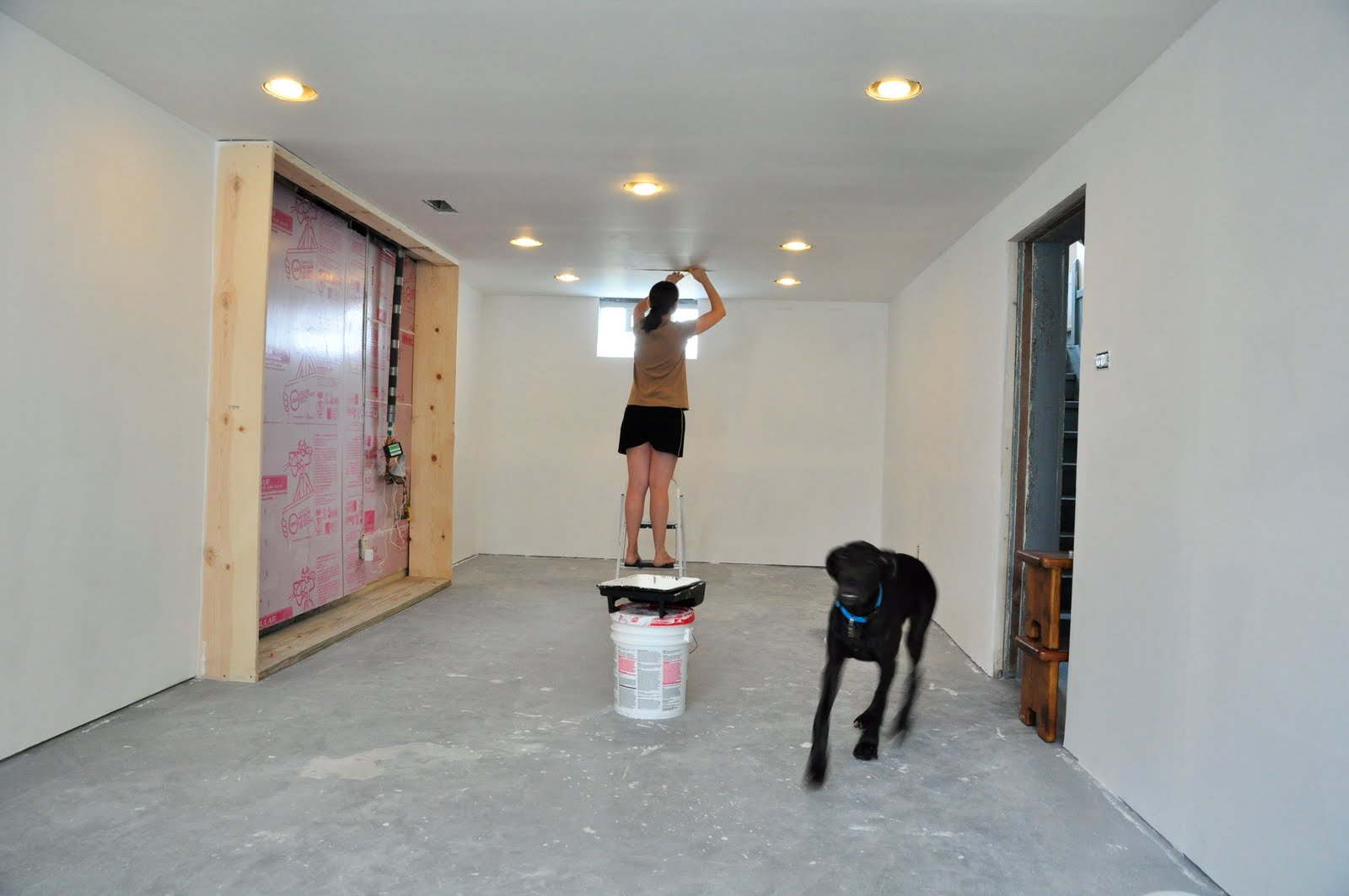how to clean up drywall dust from walls