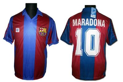 Todas las camisetas del Barcelona