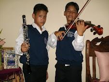 Luis Felipe y Luis Eduardo