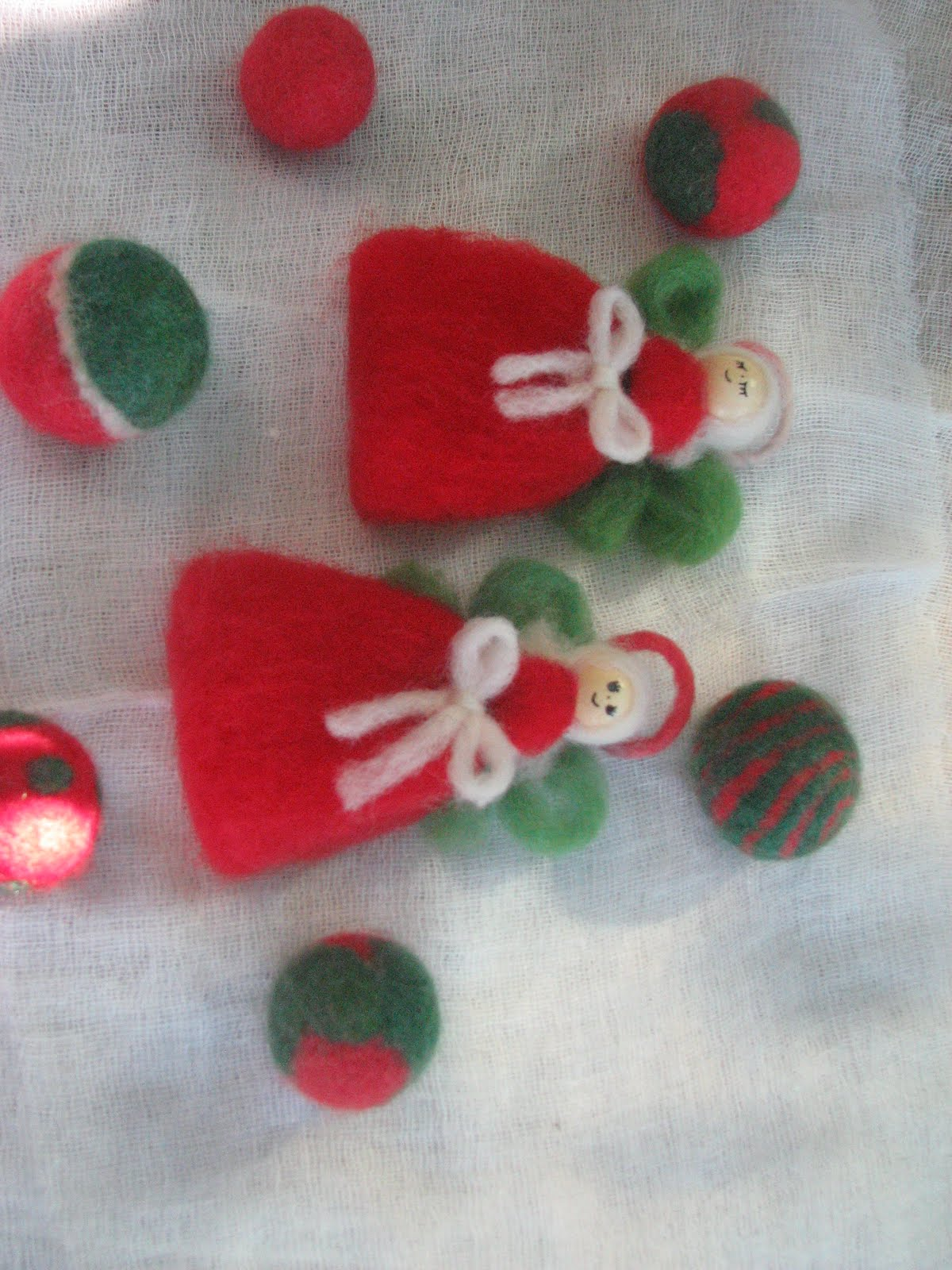 Kreativo fieltro artesanal navidad en fieltro artesanal - Decoracion navidena artesanal ...