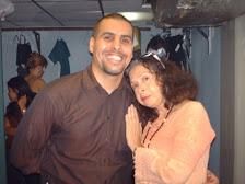 Con Jorge Marmol, escritor...