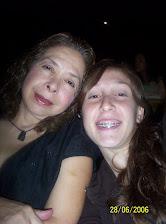 Con Alejandra Haiek, mi hija.