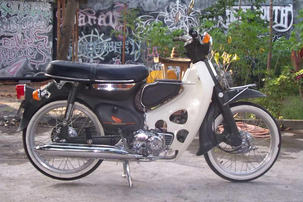 Modifikasi Honda 70