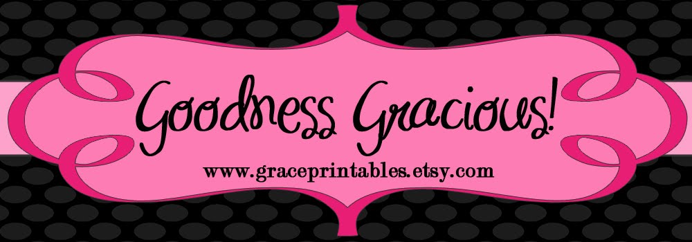 Grace Printables - DIY Printable Party, Baby Shower And Wedding Projects Etsy