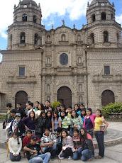 Mis alumnitos en Cajamarca 2009