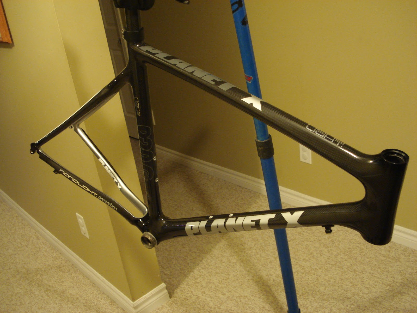 Cycling review: Planet X Nano light frame set review Part 1
