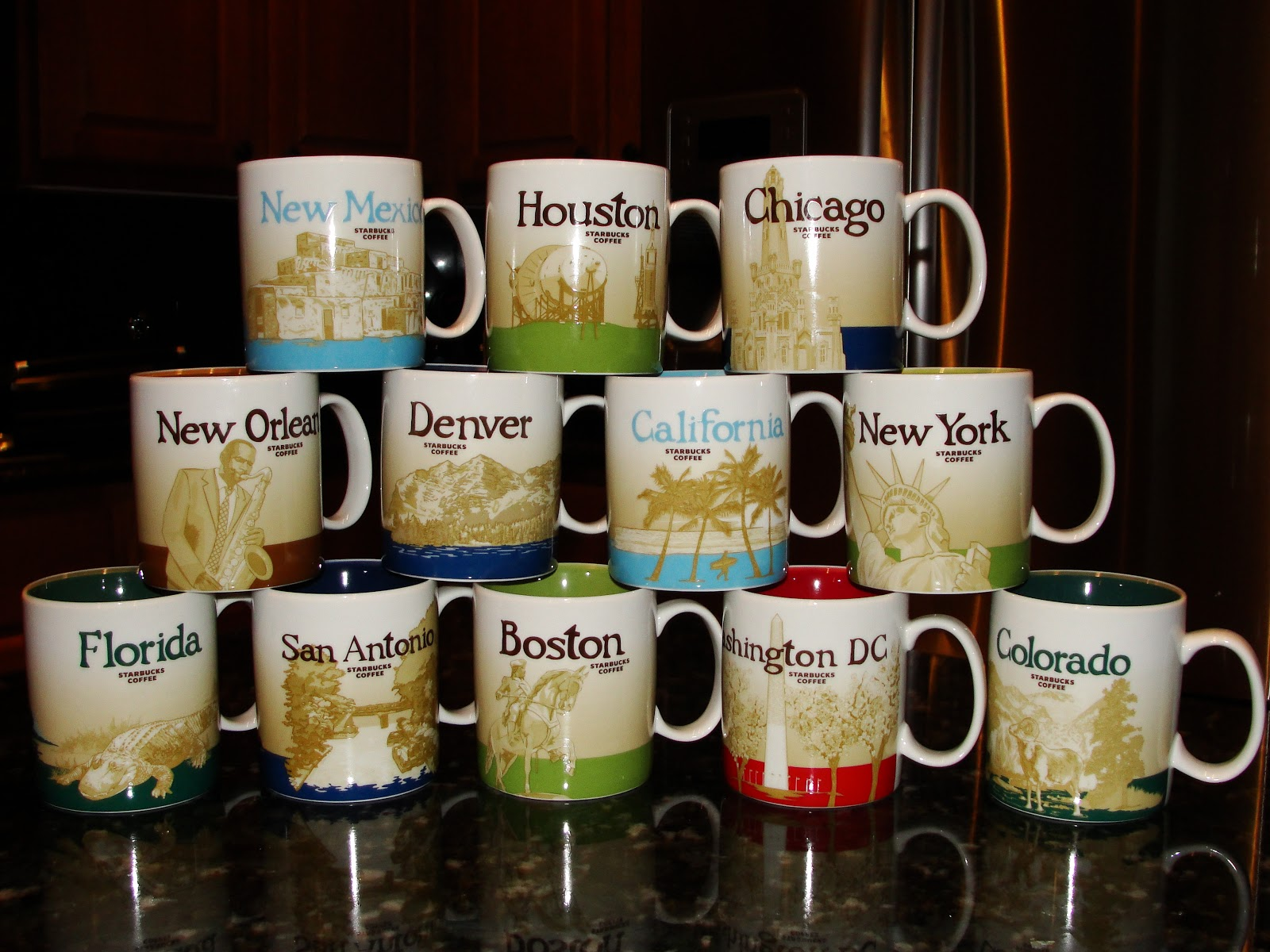 Starbucks mugs from around the world the chick of all for Starbucks in the world