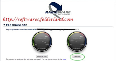 rapidshare free user graphic