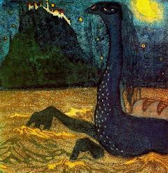 KANDINSKY.Noche de luna 1907