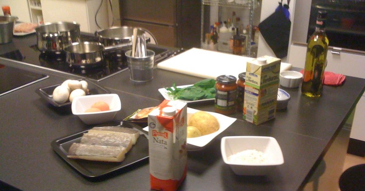 Entre ollas anda el fuego taller de cocina con el chef jordi angl y gallina blanca - Cocina de fuego ...