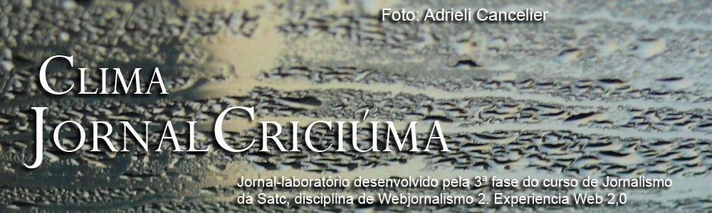 Blog Jornal Criciúma - Clima
