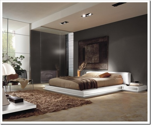 Contemporary bedroom design modern and stylish bedroom beds for Luxury modern bedroom