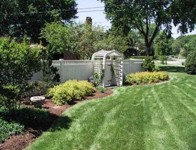 luxury landscaping, modern residential gardens