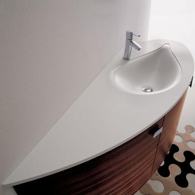 Modern bathroom basins