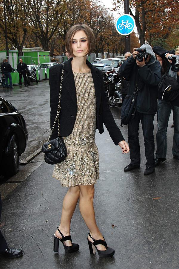 Keira Knightley's new bob hairstyle! October 5, 2010 | Bob hairstyles,
