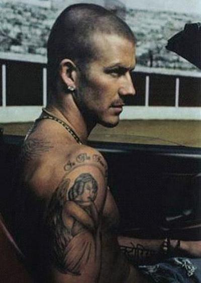 David Beckham Tattoo 3