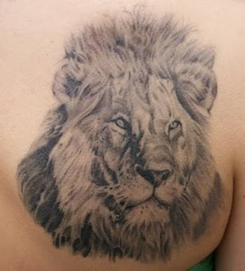 Tribal Tattoo Lion Sign Leo