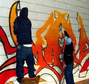 Murals Graffiti Art Spray Brushes