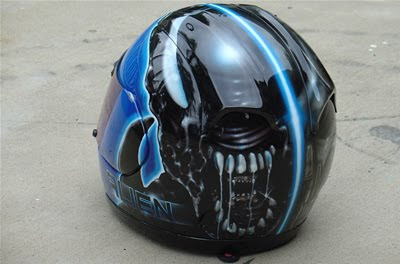 Helmet Airbrushing Helmet Airbrushing