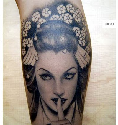 Tattoos with Meaning – Geisha Tattoo Meaning