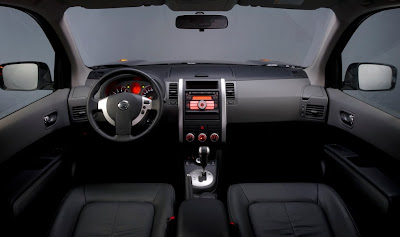 new Nissan X-Trail CVT interior