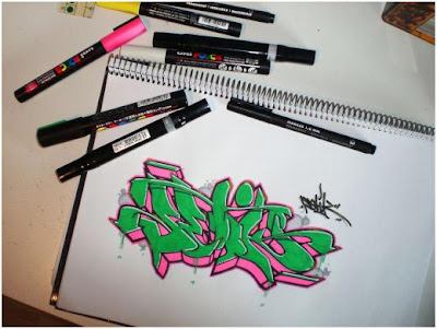 Best Graffiti Sketches