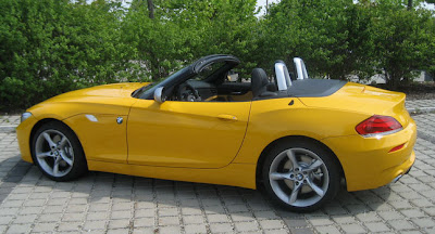 BMW Z4 Roadster Yellow Design