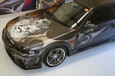 Airbrush Car Modification image