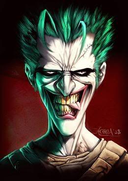Smile Joker Airbrush Custom