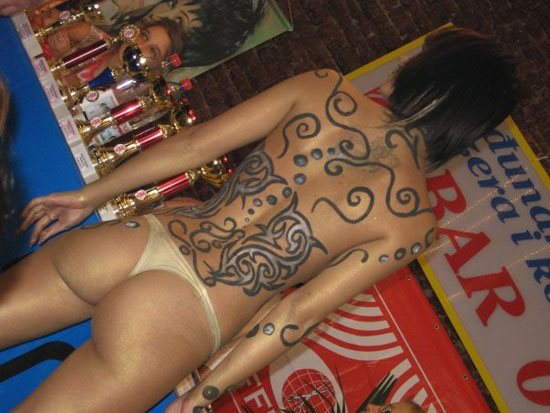 Airbrush Tattoos Body Painting >> Tattoos Airbrushed Body Painting-Self