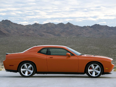 Sport car  Dodge Challenger SRT8