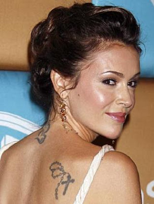 Alyssa Milano Celebrity Tattoos