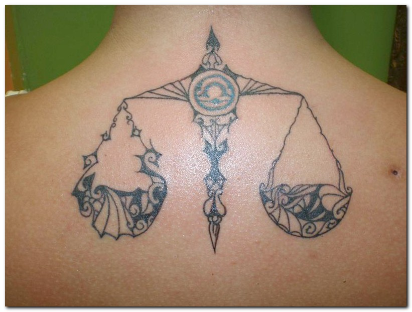 Label: gallery tattoos, libra, Libra Tattoos, sign tattoo, symbol tattoo, Tattoo Designs, Zodiac Tattoos