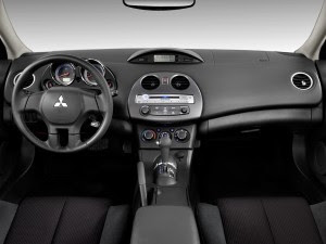mitsubishi eclipse coupe 2010 dashboard