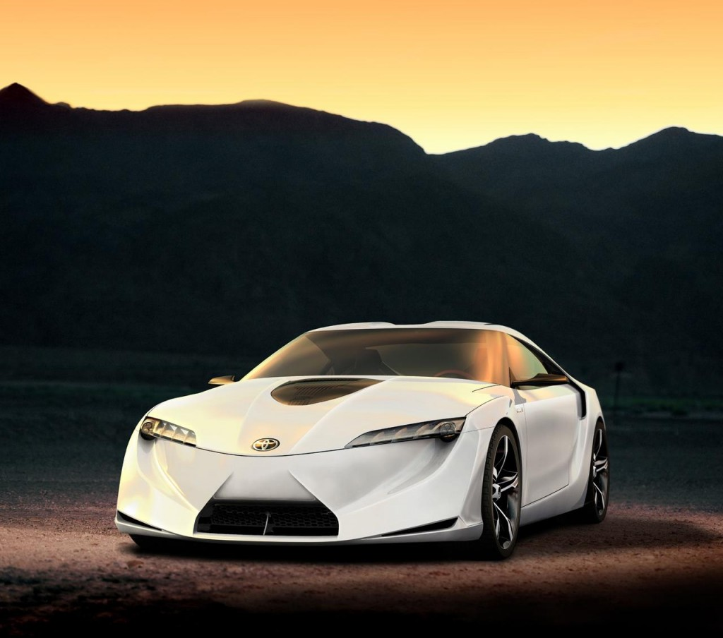 So if Concept Cars Toyota