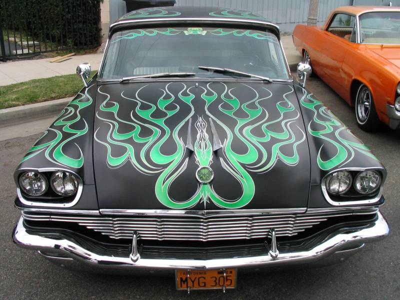 Airbrush On Cars