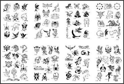 Cool Airbrush Stencils Designs 5