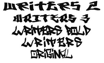 Graffiti Fonts Idea 3