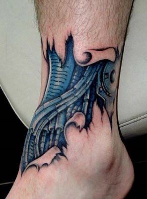 mugo2 ole s' krepe: Cool Biomechanical Tattoo Designs Gallery