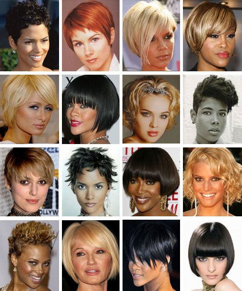 It is a fact that not all women can wear all types of short hair styles but